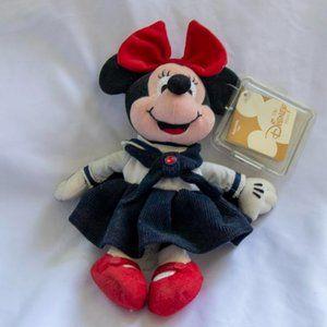 Disney Plush Minnie Mouse July Birthstone Doll